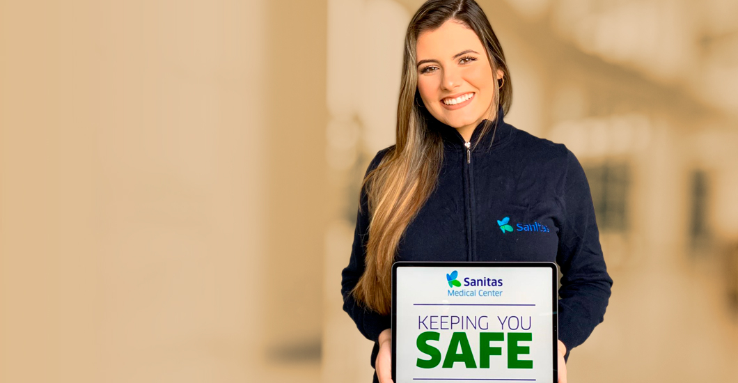 What Sanitas is doing to keep you safe​