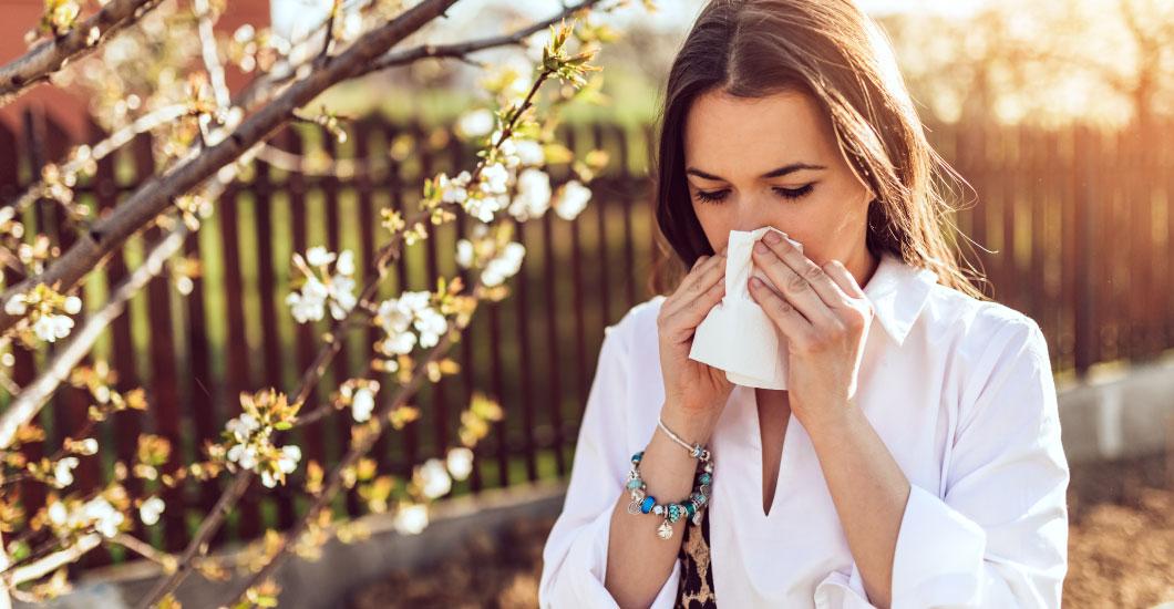 5 consejos para alergias primaverales