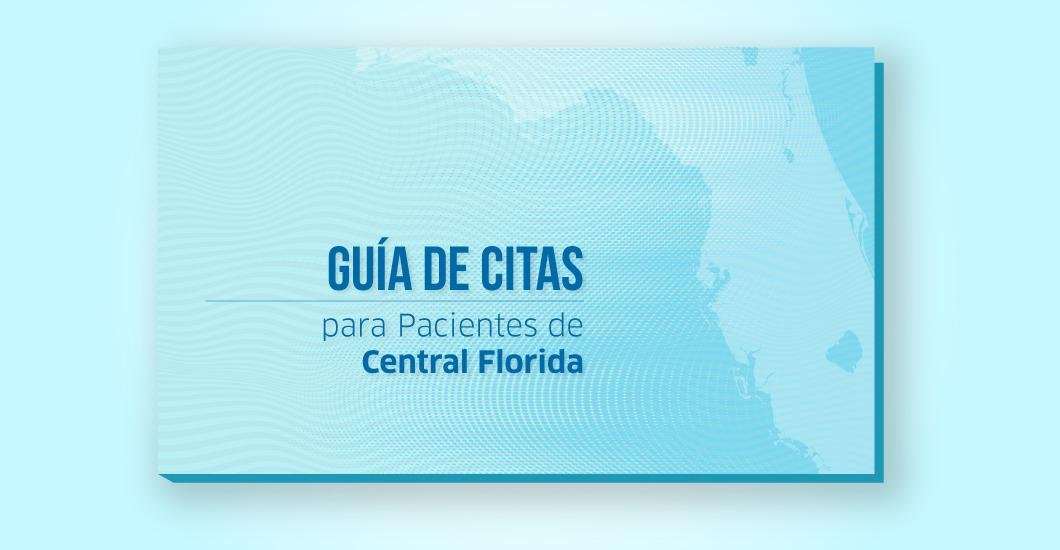 Guía de citas para pacientes de Central Florida