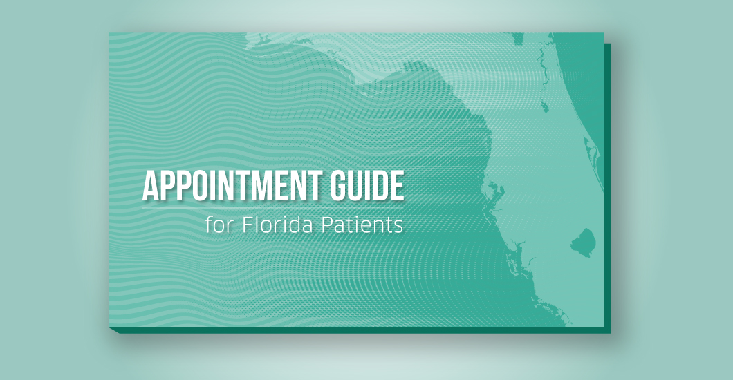 Appointment guide for Florida patients