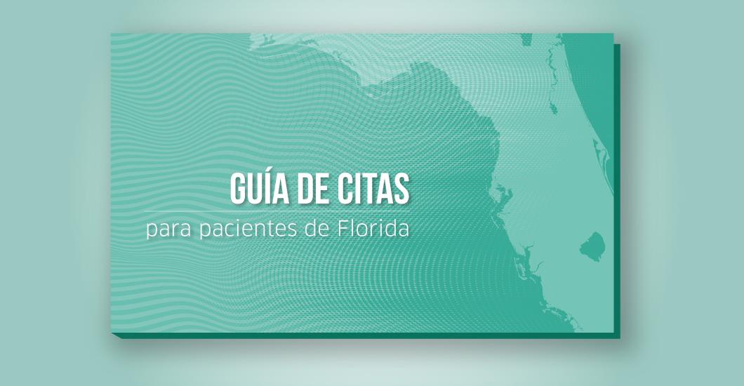 Guía de citas para pacientes de Florida