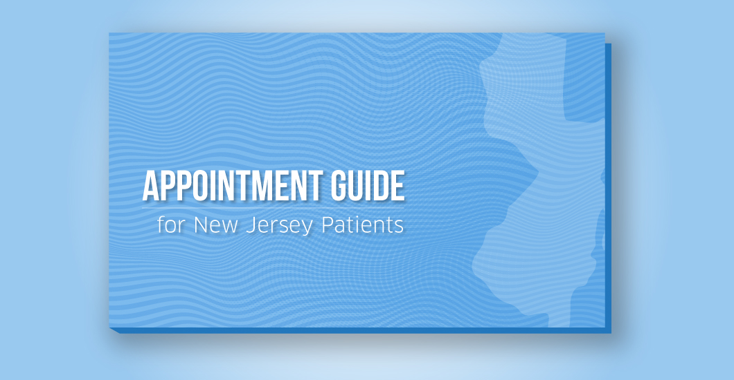 Appointment guide for New Jersey patients