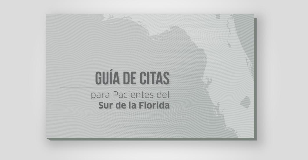 Guía de citas para pacientes del Sur de la Florida