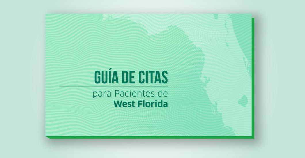 Guía de citas para pacientes de West Florida