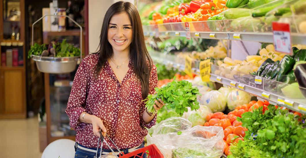 Compras de supermecado durante la cuarentena