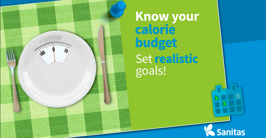 Know your calorie budget