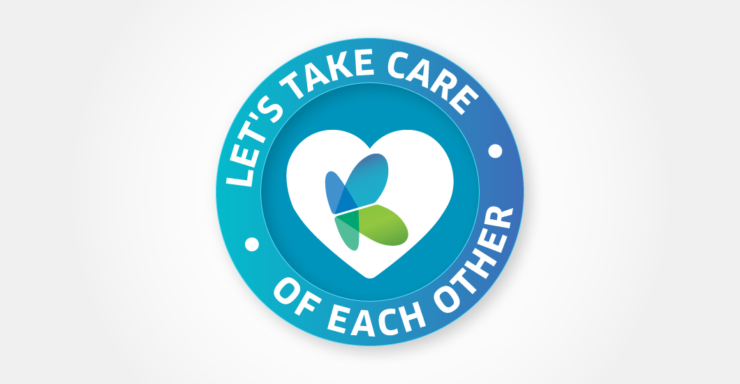 Let's take care of each other