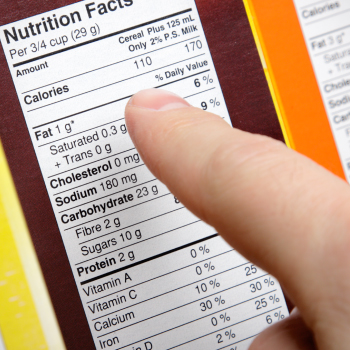 Free Nutrition Class: Reading the Nutrition Label
